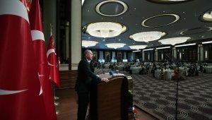 Cumhurbaşkanı Erdoğan şehit aileleri ve gazilerle bir ayara geldi