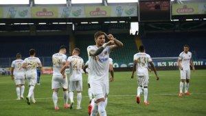 Diego Angelo ilk golünü attı