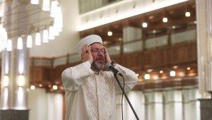 Diyanet İşleri Başkanı Erbaş, 15 Temmuz gecesi için sela okudu