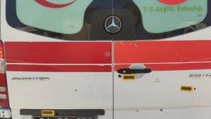 Doğum ihbarına giden ambulans kurşun yağmuruna tutuldu