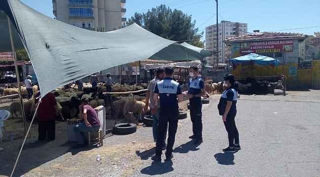 Diyarbakır'da kurban satış yerlerinde sıkı denetim