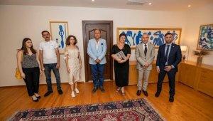 Dünya Gençlik Konseyi'nden Başkan Soyer'e ziyaret