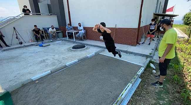 Düzce'de 60 kişilik spor lisesi sınavlarına 309 öğrenci başvurdu