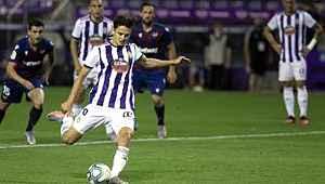 Enes Ünal, 90+7'de kaçırdığı penaltıyla Valladolid'i galibiyetten etti