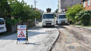 Erenler'de alt yapı çalışması biten 2 sokağa asfalt çalışması yapılacak