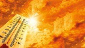 Erzincan'ın Kemaliye ilçesinde hava sıcaklığı 39 dereceyi buldu