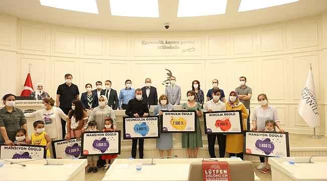 Evde Kal Yetenek Yarışması Ödül Töreni düzenlendi