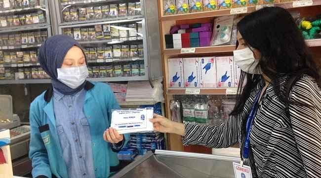 Eyüpsultan Belediyesi ücretsiz maske dağıtıyor