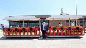 Gölyazı'da gezi treni keyfi başlıyor - Bursa Haberleri