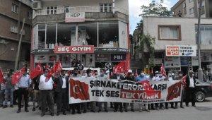 Güneydoğu'dan PKK'ya tepkiler çığ gibi büyüyor