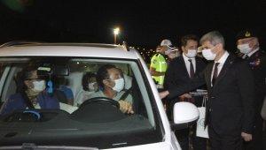 İçişleri Bakan Yardımcısı İnce'den, Ayvalık'ta bayram trafiği denetimleri