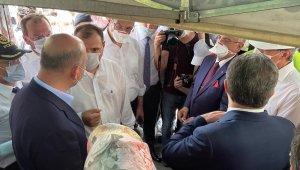 İçişleri Bakanı Soylu ve Sağlık Bakanı Koca olay yerinde