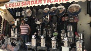 Iğdır'da Kurban Bayramı öncesi mangal satışları geriledi