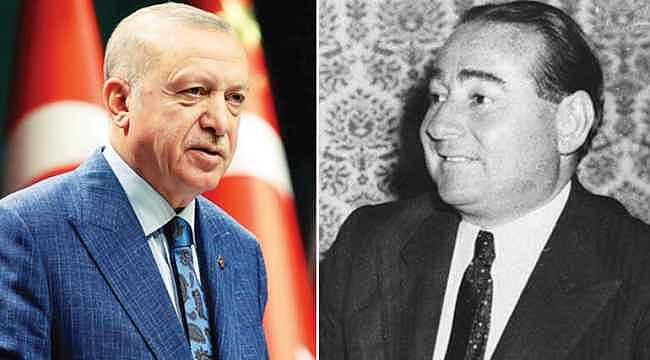 İki kahraman... Menderes ve Erdoğan