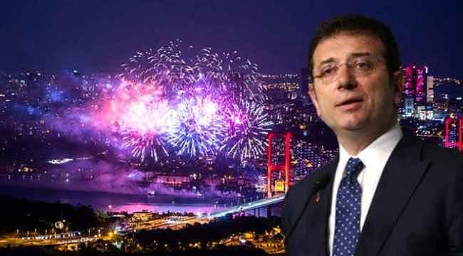 İmamoğlu, artık İstanbul'da havai fişek kullanılmayacağını açıkladı