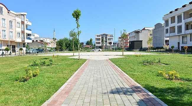 İsabey'e iki yeni park - Bursa Haberleri