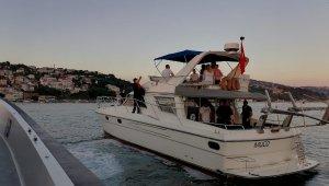 İstanbul'da deniz araçlarına denetim