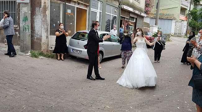 İşte sosyal mesafeli örnek düğün - Bursa Haberleri