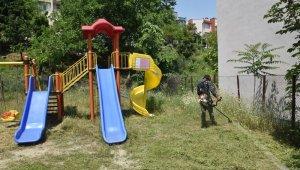 İzmit Belediyesi, ot temizliğinden 540 bin TL tasarruf sağladı