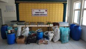 Kaçak alkol üretimi ve ticaretiyle ilgili 2 şüpheli gözaltına alındı