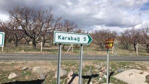 Karabağ köyü tekrar karantinaya alındı