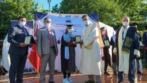 Karabük Üniversitesinde 14 Yemenli öğrenci mezun oldu