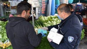 Karaköy Pazaryerinde tezgahlar yeniden kuruluyor