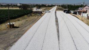 Karaman Belediyesi, açık cezaevi yolunda asfalt çalışmasına başladı