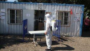Kartal Belediyesi kurban satış ve kesim alanlarını dezenfekte etti