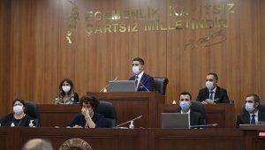Kartal Belediyesi'nde pandemi sonrası ilk meclis toplantısı yapıldı