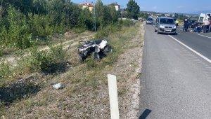 Kastamonu'da otomobil ile ATV çarpıştı: 1 ağır yaralı