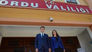 Kaymakam çift Bitlis'e atandı
