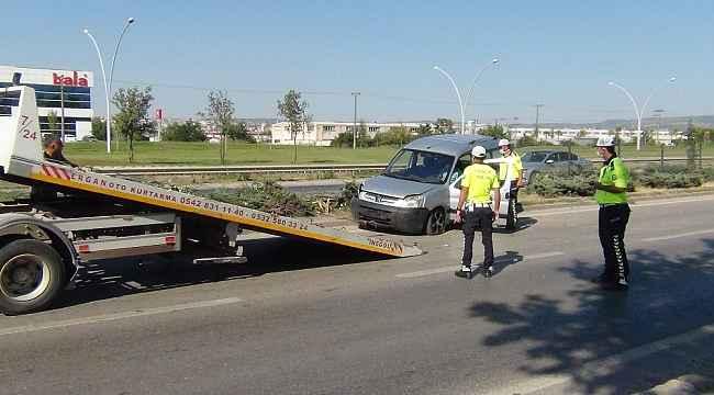 Kaza anı kameraya böyle yansıdı - Bursa Haberleri