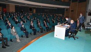 Kılıç, MHP belediye başkanları toplantısına katıldı
