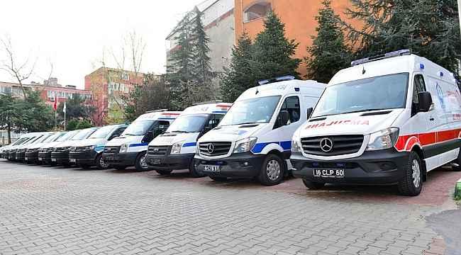 Korona virüse karşı ambulanslar dezenfekte ediliyor - Bursa Haberleri