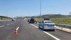 Kuzey Marmara Otoyolunda arızalanan araçlara anında tahliye