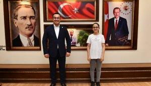 LGS şampiyonları Başkan Kanar'ı ziyaret etti - Bursa haberleri