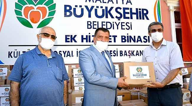 Malatya Büyükşehir'den 'Ziyan olmasın şifa olsun' kampanyası