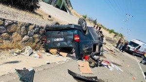 Malatya'da trafik kazası: 1 ölü, 4 yaralı
