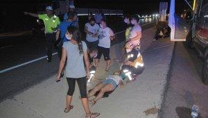 Malkara'da zincirleme kaza: 2 yaralı