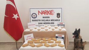 Mardin'de 16 kilo uyuşturucu ele geçirildi