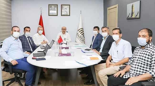 Mardin'de araç takip sistemi toplantısı