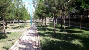 Mazıdağı'nda parklar boş kaldı