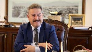 Melikgazi'den Hırka-i Şerif Camii yapımına destek