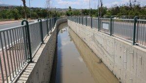 Melikgazi'nin yağmur suyu kanalları aşırı yağıştan etkilenmedi