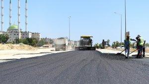 Mersin'de asfalt çalışmaları hız kazandı