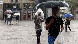 Meteoroloji, 10 il için sağanak yağış uyarısında bulundu
