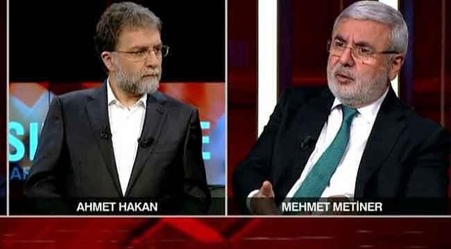 Metiner'den canlı yayında Erdoğan gafı... Ahmet Hakan