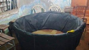 Metruk evde horoz dövüşüne 63 bin 340 TL para cezası