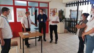 Müdür Başyiğit, Yetenek Sınavı ile öğrenci alan okulları ziyaret etti
